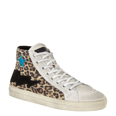 Leopard Hi-Top Trainers, ${color}