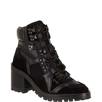 Sneaker Ankle Boots