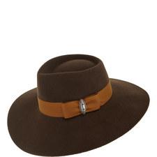 Felt Grosgrain Band Hat