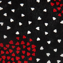 Cluster Heart Silk Scarf, ${color}