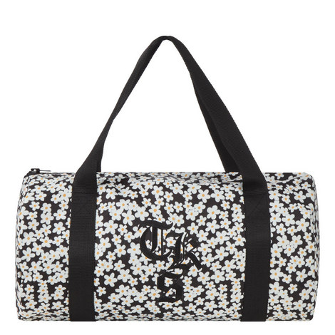 Floral Print Yoga Bag, ${color}