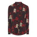 Poppy Print Shirt, ${color}