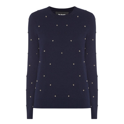 Studded Wool Sweater, ${color}