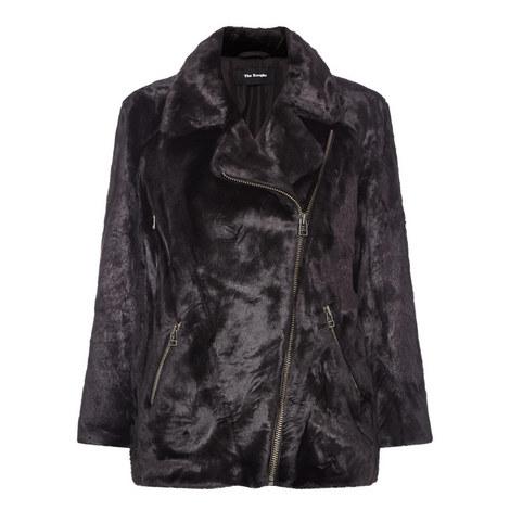Faux Fur Jacket, ${color}