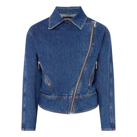 Denim Zip Jacket, ${color}