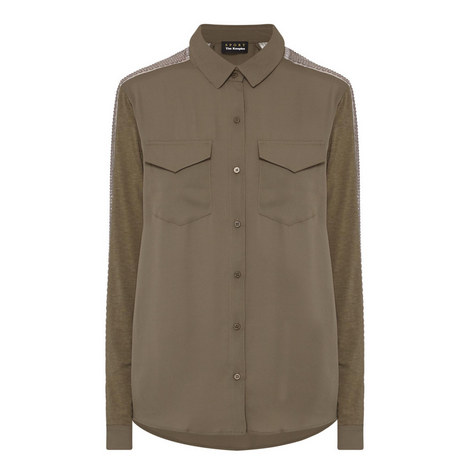 Jewelled Braid Shirt, ${color}