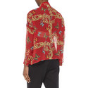 Royal Butterfly Silk Shirt, ${color}