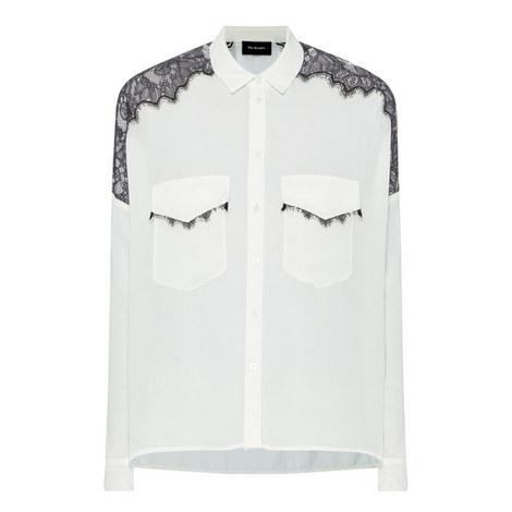 Crêpe Lace Shirt, ${color}