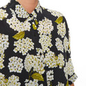 Hortensia Print Shirt , ${color}