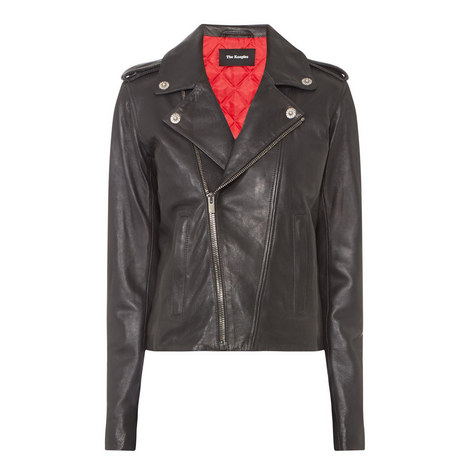 Leather Biker Jacket , ${color}