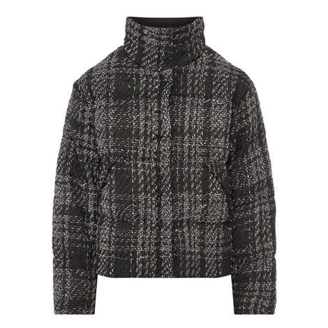 Tweed Down Jacket, ${color}
