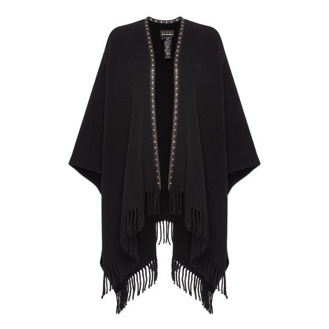 Studded Poncho, ${color}