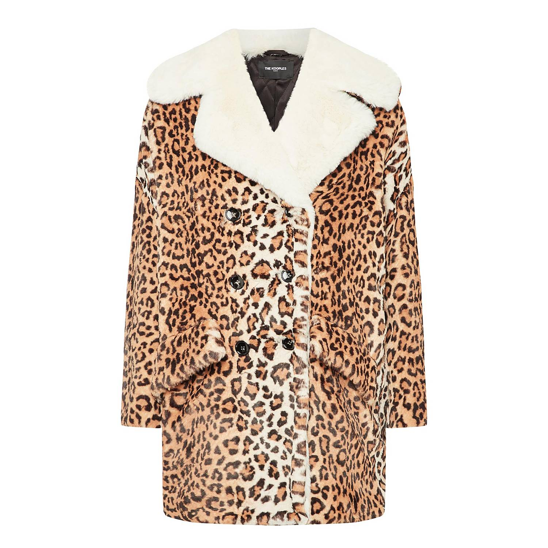 b5705989f7 Leopard Print Coat
