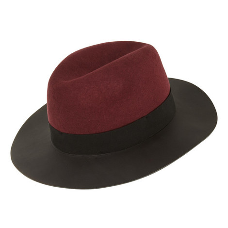 Leather Brim Hat, ${color}