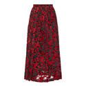 Devoré Velvet Skirt, ${color}