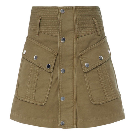 Military Mini Skirt, ${color}