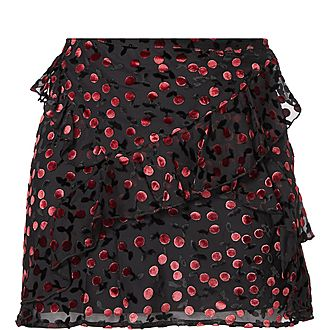 Rock n' Roll Cherry Skirt