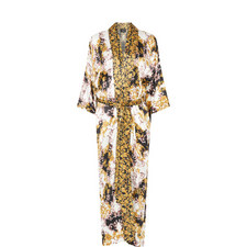 Baroque Print Robe