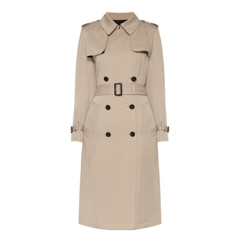 Longline Trench Coat, ${color}