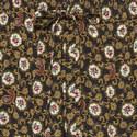 Floral Print Silk Trousers, ${color}