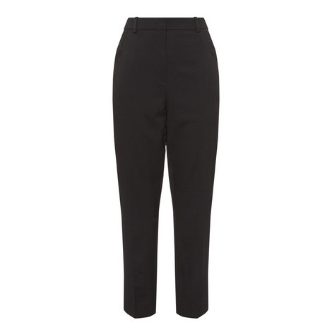 Embroidered Suit Trousers, ${color}