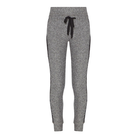 Fleece & Lace Sweatpants, ${color}