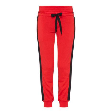 Grosgrain Cuffed Sweatpants, ${color}