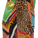 Baroque Print Trousers, ${color}