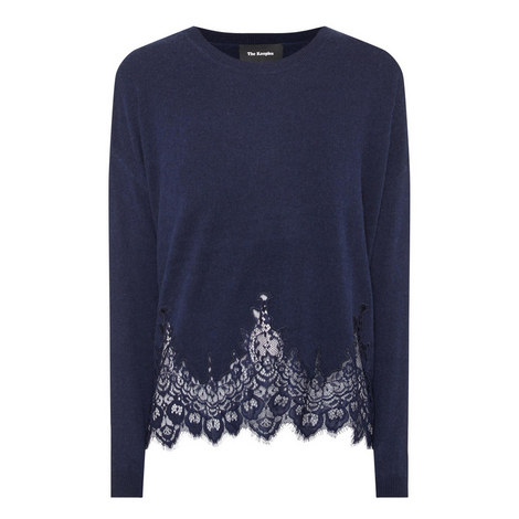 Lace Detail Sweater, ${color}