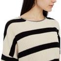 Striped Chain Sweater, ${color}