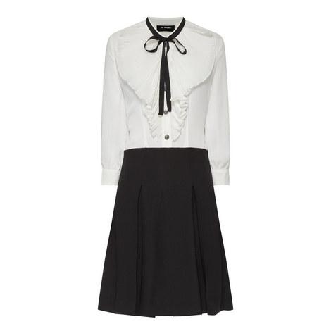Frill Detail Shirt Dress, ${color}