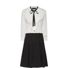 Frill Detail Shirt Dress