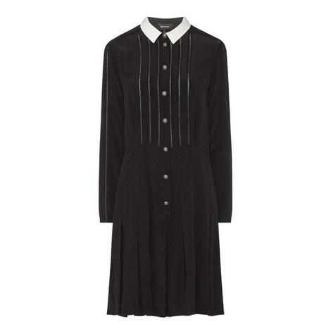 Silk Crêpe Dress, ${color}