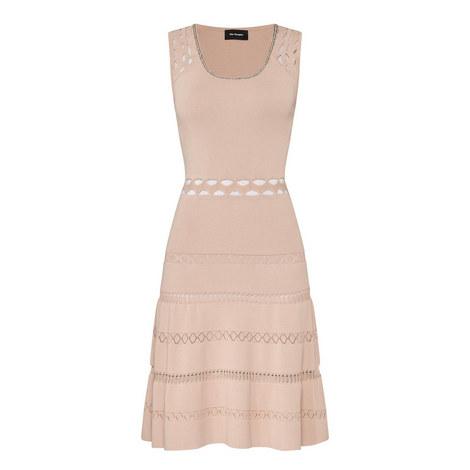 Knit Cut-Out Dress, ${color}