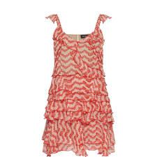 Jasmine Print Strappy Dress