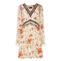 Fleurs D'Artifice Printed Dress, ${color}