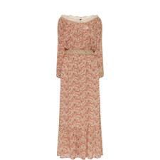 Long Rusty Lou Print Dress