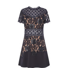 Waxed Lace Dress