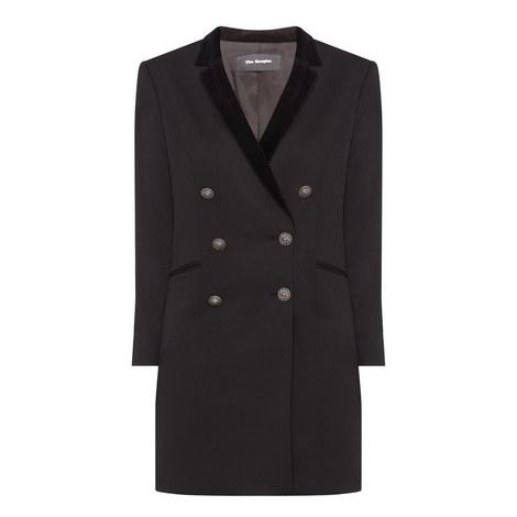 Tuxedo Blazer Dress, ${color}