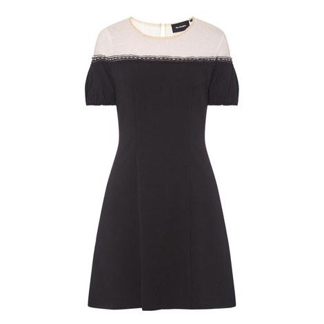Romantic Crêpe Dress, ${color}