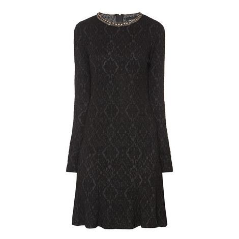 Baroque Beaded Dress, ${color}