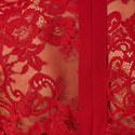 Crêpe Lace Dress, ${color}