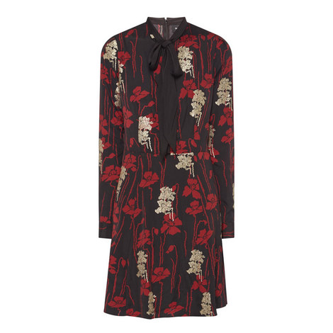 Poppy Print Dress, ${color}