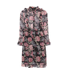 Lili Rose Muslin Printed Dress