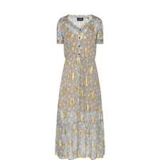 Western Flower Print Dress