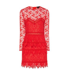 Cabaret Lace Mini Dress