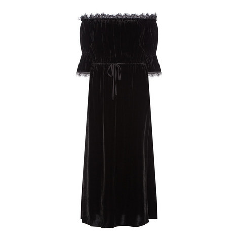 Long Velvet Dress, ${color}