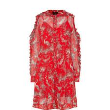 Birdy Cold-Shoulder Dress