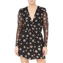 Silk Mini Dress, ${color}
