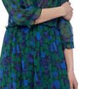 Winter Night Frills Long Dress, ${color}